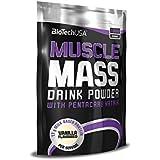 Biotech USA 11005030100 Muscle Mass Prise de Masse Saveur Vanille