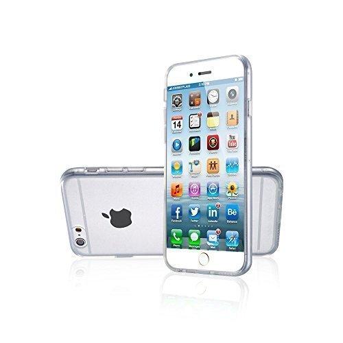 Avcibase® Ultra Slim TPU Coque Silicone Mobile Housse de Protection Smartphone étui pour Apple / Samsung / 0,3mm coque Film De Protection Coque Housse transparent en couleur - en verset. Couleurs pour Transparent