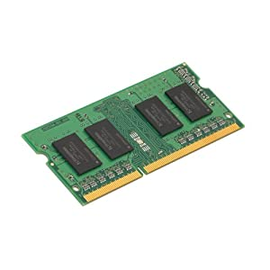 Kingston KVR13S9S6/2 2 GB 1333 MHz DDR3 Non-ECC CL9 204-Pin SO-DIMM Value RAM Memory, 1.5 V, Black