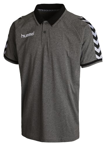 Hummel Polo Stay Authentic Dark Grey Melange