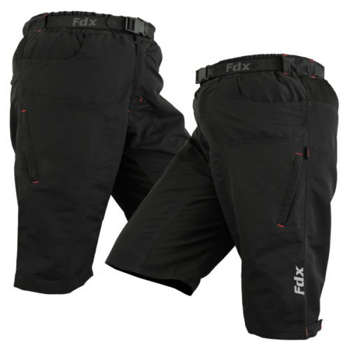 MTB Cycling Short Off Road Cycle With clickfast inner Liner Padded short