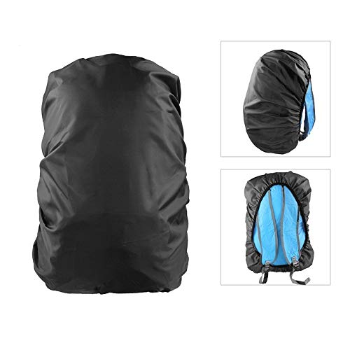 41XrtI6AT0L. SS500  - Dricar 2 Pieces Backpack Rain Cover, Waterproof Rucksack Bag Cover, Outdoor Bag Covers for Traveling Climbing Cycling Hiking (35L and 45L)