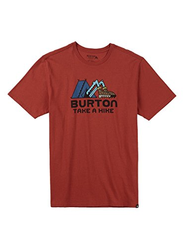 Burton Take A Hike Short Sleeves maglietta, Uomo, TAKE A HIKE SHORT SLEEVES, Tandori, S Tandori