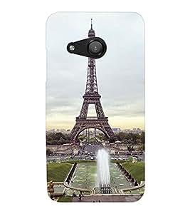 EPICCASE Effile Tower Mobile Back Case Cover For Microsoft Lumia 550 (Designer Case)