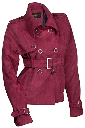 Stel4Style -  Giacca  - Donna Bordeaux