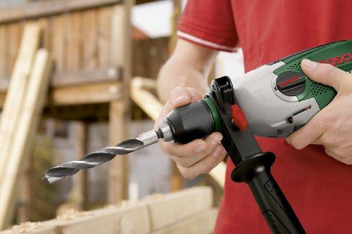 Bosch DIY Schlagbohrmaschine PSB 850-2 RE, Tiefenanschlag, Zusatzhandgriff, Koffer (850 Watt, max. Bohr-Ø 1./2.Gang: Beton: 18/13 mm, Holz: 40/25 mm) - 3