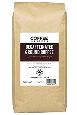 Coffee Masters Decaffeinated Ground Coffee (100% Arabica) 500g by Coffee Masters