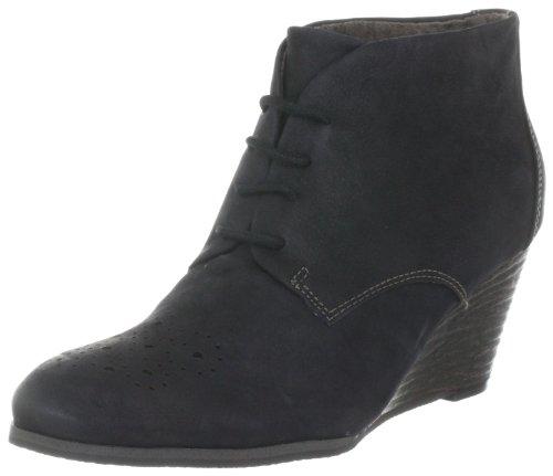 s.Oliver Casual 5-5-25108-29, Chaussures à lacets femme Noir-TR-I3-4