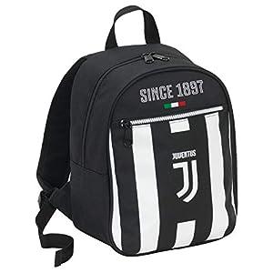 Seven Zaino Small Juventus Coaches Mochila Tipo Casual 32 Centimeters 10 Negro (Bianco e Nero)