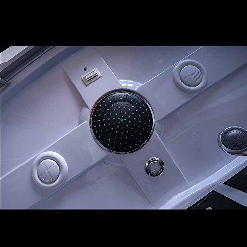 Home Deluxe Diamond schwarz Duschtempel, inkl. Whirlpool und Dampfsauna - 5