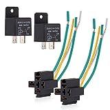 5 Pin 12v 30a enlace con Precableado base para la protección de interruptor de encendido//apagado