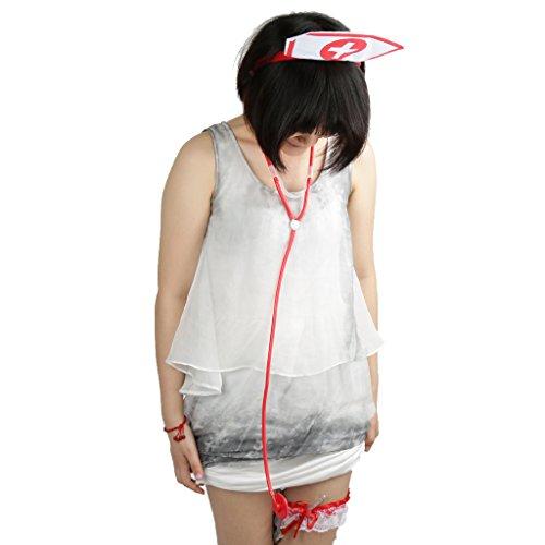 B Blesiya Krankenschwester Cosplay Kostüm Zubehör (Krankenschwester Zubehör Kit)