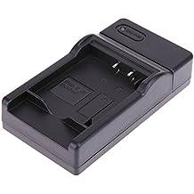 Amazingdeal365 Cargador de Batería USB para Panasonic DMC-TZ7 DMC-ZS1 DMC-ZS1 DMC-ZX1 DMC-ZR1