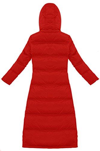Sexyggs Damen Mantel Rot