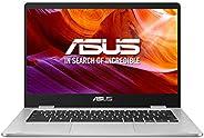 "ASUS Chromebook Z1400CN-BV0306 - Ordenador portátil de 14"" HD (Intel Celeron N3350, 4GB RAM, 32GB EMMC, I"
