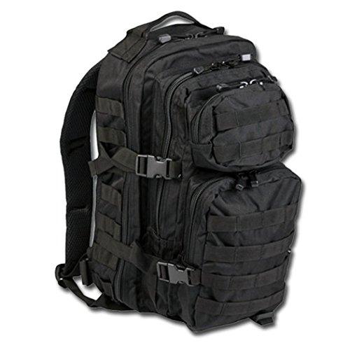 BKL1® US assault pack Small Noir Sac à dos EDC Randonnée survivalisme Survival 562