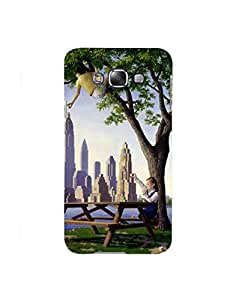 Aart Designer Luxurious Back Covers for Samsung E7 by Aart Store.