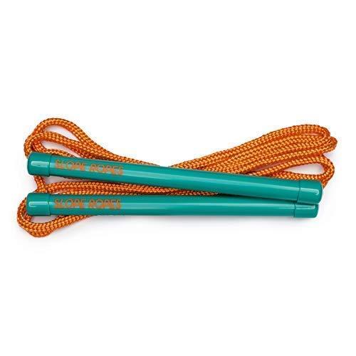 Slope Ropes® Ski Harness für Kinder | Die einfachste Methode, um Kindern das Skifahren beizubringen (Türkis/Orange)