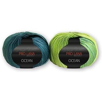 ca TERAMO von PRO LANA 120 m Wolle Farbe 71-50 g