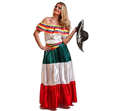 El Rey del Carnaval Disfraz de Mexicana para Mujer