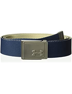 Under Armour Men's Webbing 2.0 Belt Cinturón, Hombre, Azul (408), One Size