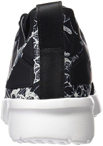 adidas Damen ZX Flux ADV Verve Trainer Low, Schwarz Grau (Core Black/core Black/ftwr White)