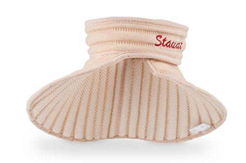 Le soutien pour la nuque STAUDT combat les douleurs à la nuque et à l'épaule, les tensions à la nuque et les maux de tête dus au stress. À utiliser la nuit, c'est une bonne alternative aux compresses chauffantes, aux cache-cols, aux minerves, aux appareils de massage de la nuque et aux bouillottes. (SomniShop Set B 300)