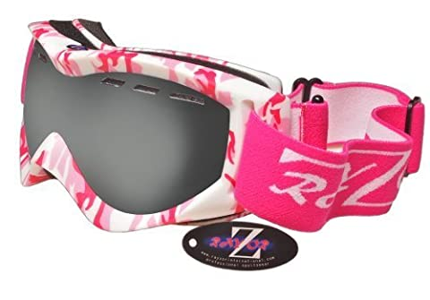 Rayzor Professional UV400 Double Lensed Ski / SnowBoard Goggles, With