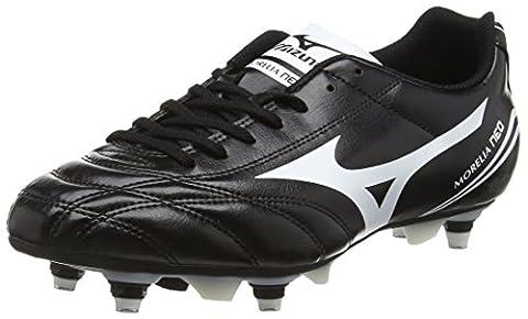 Mizuno Morelia Neo CL Mix, Chaussures de Football Homme, Noir-Noir (Noir/Blanc), 42 EU ( 8 UK )