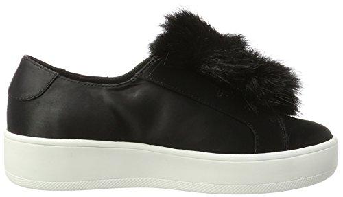 Steve Madden Breeze Sneaker, Scarpe da Ginnastica Basse Donna Nero (Black)