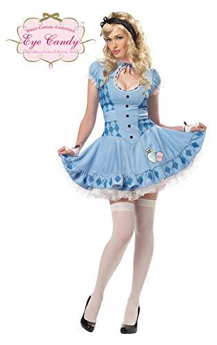 TH-MP Sweet Alice Kostüm Damenkostüm Kleid Faschingskostüm -