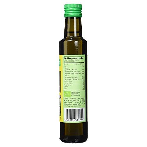 Seitenbacher Bio Hanf Öl rein nativ, kaltgepresst/1 Pressung, 1er Pack (1 x 250 g) - 4
