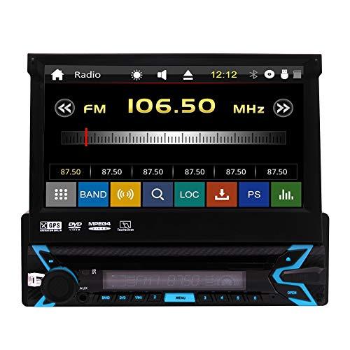 EINCAR HEI? Selling Universal-Wince Autoradio Single 1 Din 7 Zoll kapazitive Multiple Touch-Screen-Auto-Stereo-DVD-Spieler GPS Navi Radio-Unterst¨¹Tzung Bluetooth USB SD AUX CAM-IN Lenkrad-Steuer