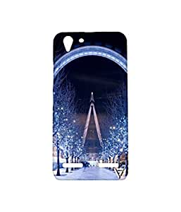 Vogueshell Big wheel Printed Symmetry PRO Series Hard Back Case for Lenovo Vibe k5