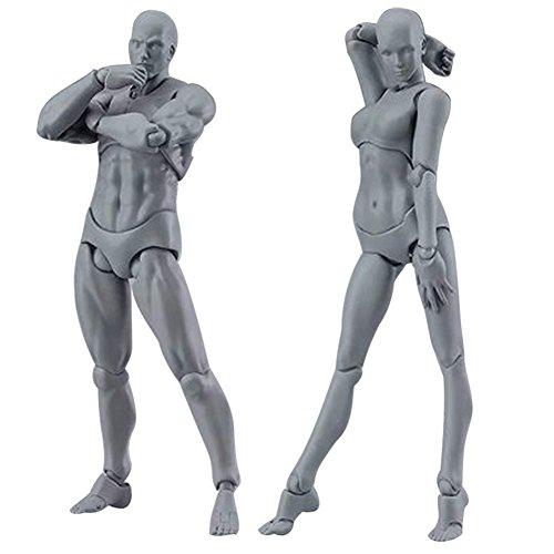Wildlead 2 Teile / satz Licht Körper Chan & Kun PVC Movebale Action Figure Modell Für SHF Version...