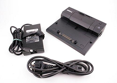Original Dell E-Port PR03X Dockingstation 2x USB 3.0 mit Original Dell 130 W+Stromkabel für Latitude E6230, E6320, E6330
