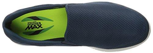 Skechers Go Flex 2, Scarpe Running Uomo Blu (Navy/gray)