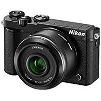 Nikon 1 J5 Systemkamera (20 Megapixel, 7,5 cm (3 Zoll) Display, 4K-Videoaufzeichnung, Funktionswählrad, Einstellrad, Funktionstaste, WiFi, NFC, USB, HDMI) Kit inkl. 10-100mm 1:4,0–5,6 VR Objektiv schwarz