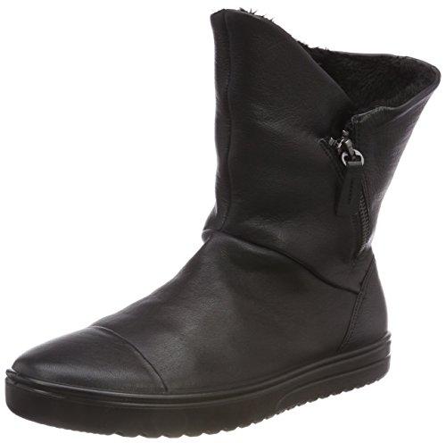 ECCO Damen FARA Hohe Stiefel, Schwarz (Black 1001), 39 EU