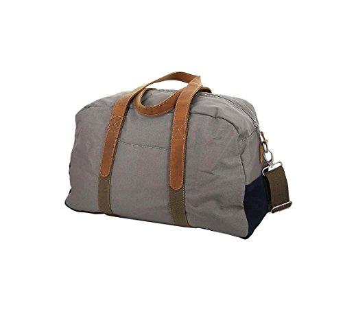 Faguo - Sac de voyage homme Bag 48 taupe-navy