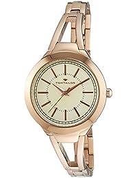 TOM Tailor it's_amaz-reloj analógico de cuarzo chapado en acero inoxidable 5413803