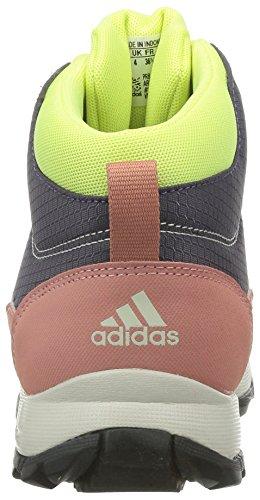 adidas  Hyperhiker, Bottines de randonnée mixte enfant Multicolore - Mehrfarbig (Ash Purple S15-St/Core Black/Raw Pink F15)