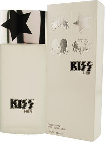 Kiss Kiss Eau de Parfum 100ml Spray - Spray 3.4 Ounce Kiss