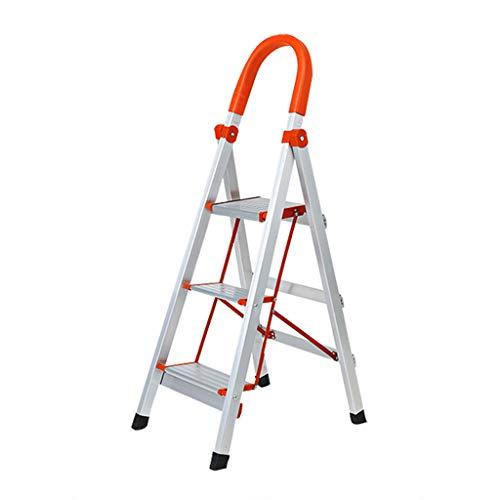 Klappleiter Aluminiumlegierung Home Portable Multi Funktion Zweck Werkzeug Leiter EN131 Zertifiziert CHENGYI (Color : B)