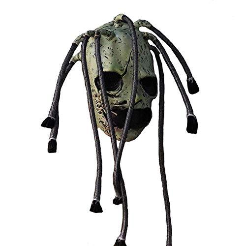 Latex Horror Maske - hinffinity Halloween Latex Maske Slipknot ungiftig