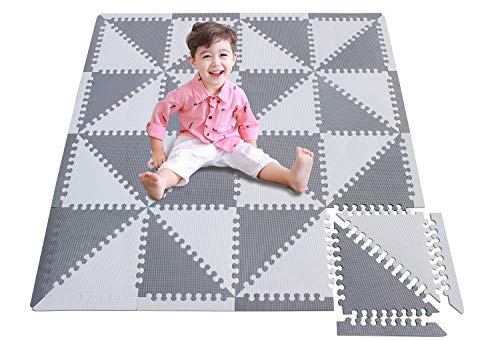 meiqicool - Alfombra puzzle infantil para bebés de Foam (EVA), suelo extra...