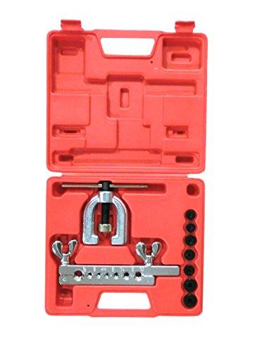 SLPRO® Bördelgerät Bremsleitung Werkzeug Doppel Bördelwerkzeug Satz für Kfz Bördeln