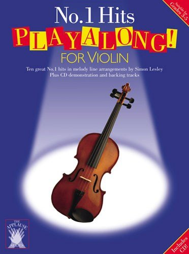 APPLAUSE: NO 1 HITS PLAYALONG FOR VIOLIN  PARTITURAS  CD PARA VIOLIN