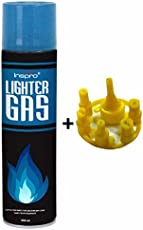 INSPRO Lighter Gas fluid with Refill Adapter (550ml)