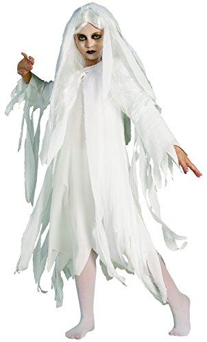 Rubie's 2 883816 L - Ghostly Spirit Kostüm, Größe L (Mädchen Geist Perücke)